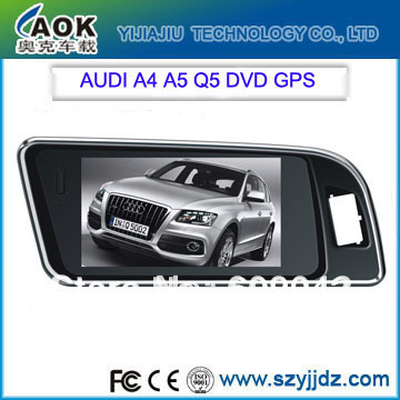 HD touch screen auto multimedia system special Car DVD for AUDI A6,A8,Q7(2005-2009)with gps navigations radio setreo,audio(China (Mainland))