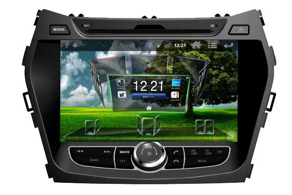 Android CAR DVD PLAYER WITH GPS FOR Hyundai santa fe 2013 Navigation Radio Bluetooth TV Free Maps - Shenzhen TomTop E-commerce Technology Co., Ltd. store