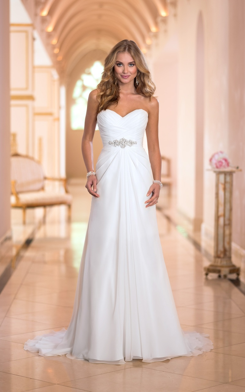 Vestido de noiva 2015 cheap wedding dress sexy beach Inexpensive beach wedding dresses