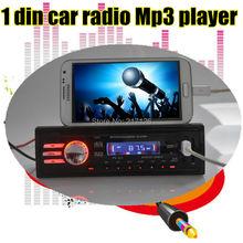 Новый 12 В автомобиль аудио автомобильный радиоприемник автомобиля стерео mp3-плеер SD USB накопитель 1 дин в-dash FM передатчик дистанционного управления 1042A из светодиодов экран