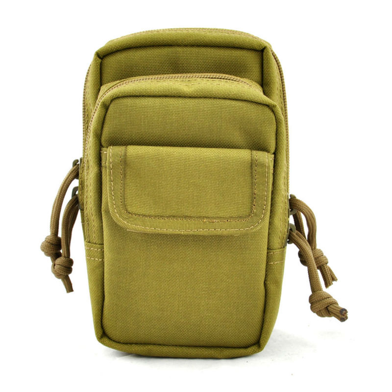 BRAND NEW camo style outdoor tactical molle admin pouches belt bags for men's hunting tool bags magazine pouches(China (Mainland))