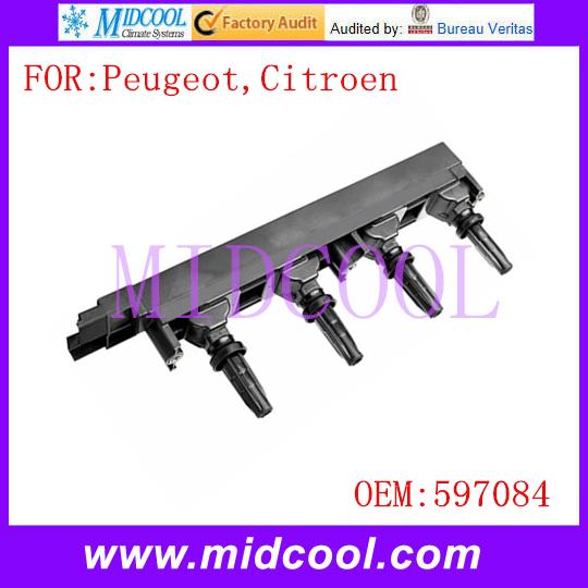 Новый катушка зажигания использования OE NO. 597084 для Peugeot Citroen