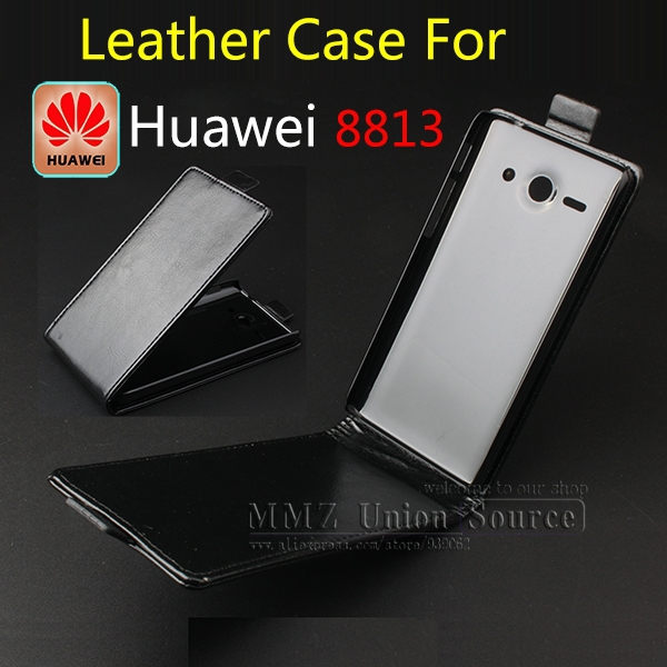 1,New 2014 Luxury Flip Genuine Leather Case Cover Huawei 8813,Original Phone Bag,Free Screen Protector/ - MMZ Union Source store