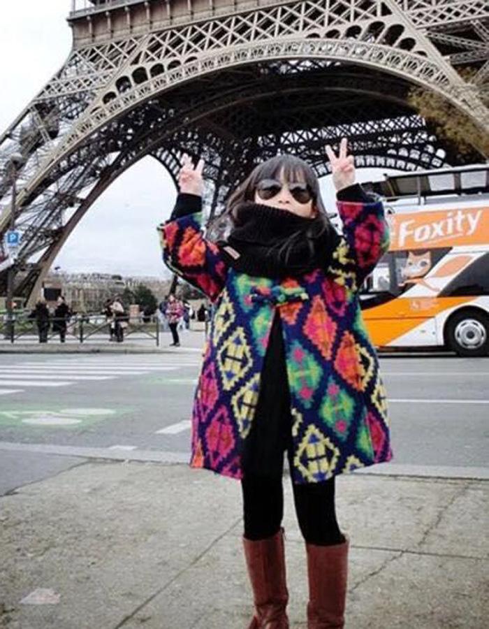Скидки на 2016 зимнее пальто девочка в народном стиле цвет, шерстяные пальто в длинном пальто бесплатная доставка
