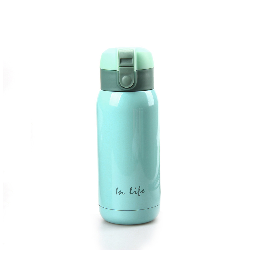 360ML Mini Thermo Cup Creative Portable Stainless Steel Insulated Thermos Child Travel Coffee Thermal Mug Vacuum Flasks(China (Mainland))