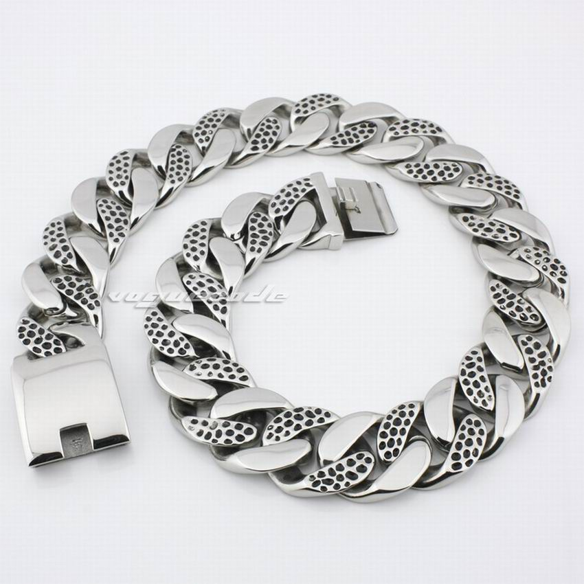18 ~ 36 Huge &amp; Heavy 316L Stainless Steel Mens Necklace 4R011N_#24<br><br>Aliexpress