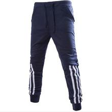 2016 New Fashion Sports Tracksuit Bottoms Golds Gym Mens Pants Jogging Sweatpants Trousers Calca Masculina Pantalon Homme