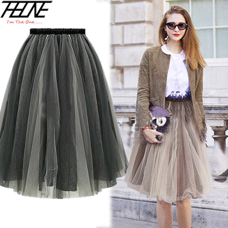 aliexpress buy summer style tulle skirt