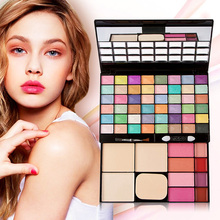 Buy 48 Colors Makeup Contour Palette w/ Mirror Eyeshadow Blush Powder Gloss Face Powder Facial Concealer Palette GUB# for $13.10 in AliExpress store