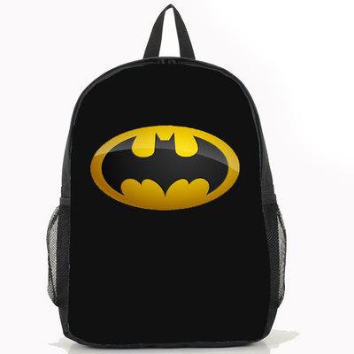 New Film The Dark Knight Justice League Bag Anime Batman Backpack Unisex 22 Design Option(China (Mainland))