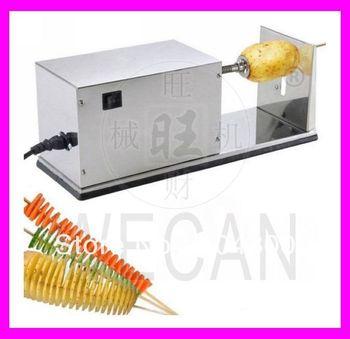 sm1378 elektrische tornado spirale twister kartoffel maschine schneidemaschine cutter in. Black Bedroom Furniture Sets. Home Design Ideas