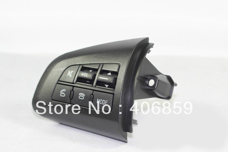 2010-2012 Mazda 3 High quality Steering wheel Audio and channel and bluetooth control button cd(China (Mainland))