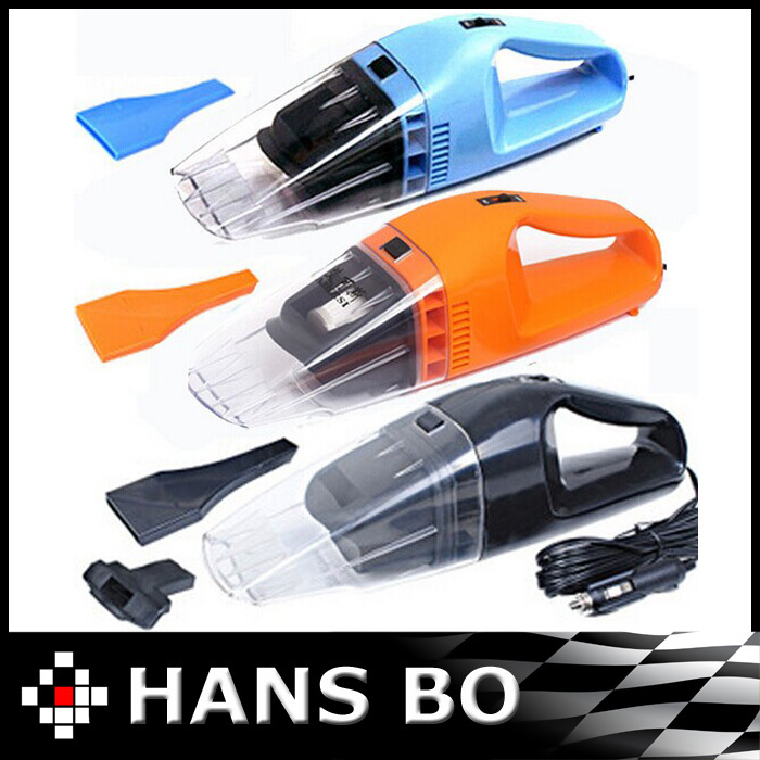 Free Shipping Car vacuum Cleaner of Portable Handheld Wet & Dry Dual-use Super Suction 5meters 12V, 75W CV 1134(China (Mainland))