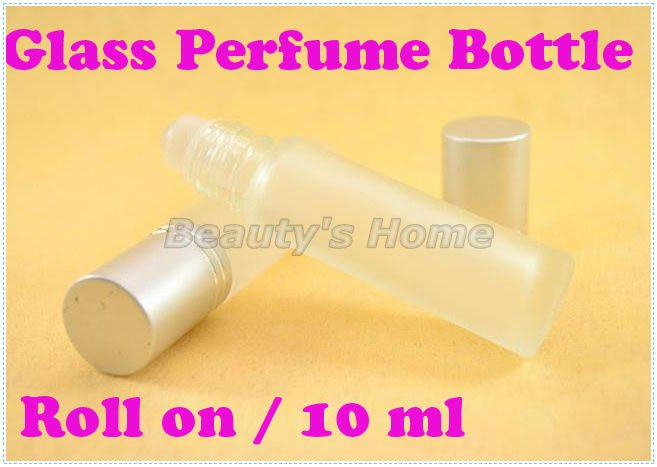 10ml roll perfume bottles ground glass empty small refillable bottle lip gloss container #0362 - Packing Supplier(Bottles and Jars store)