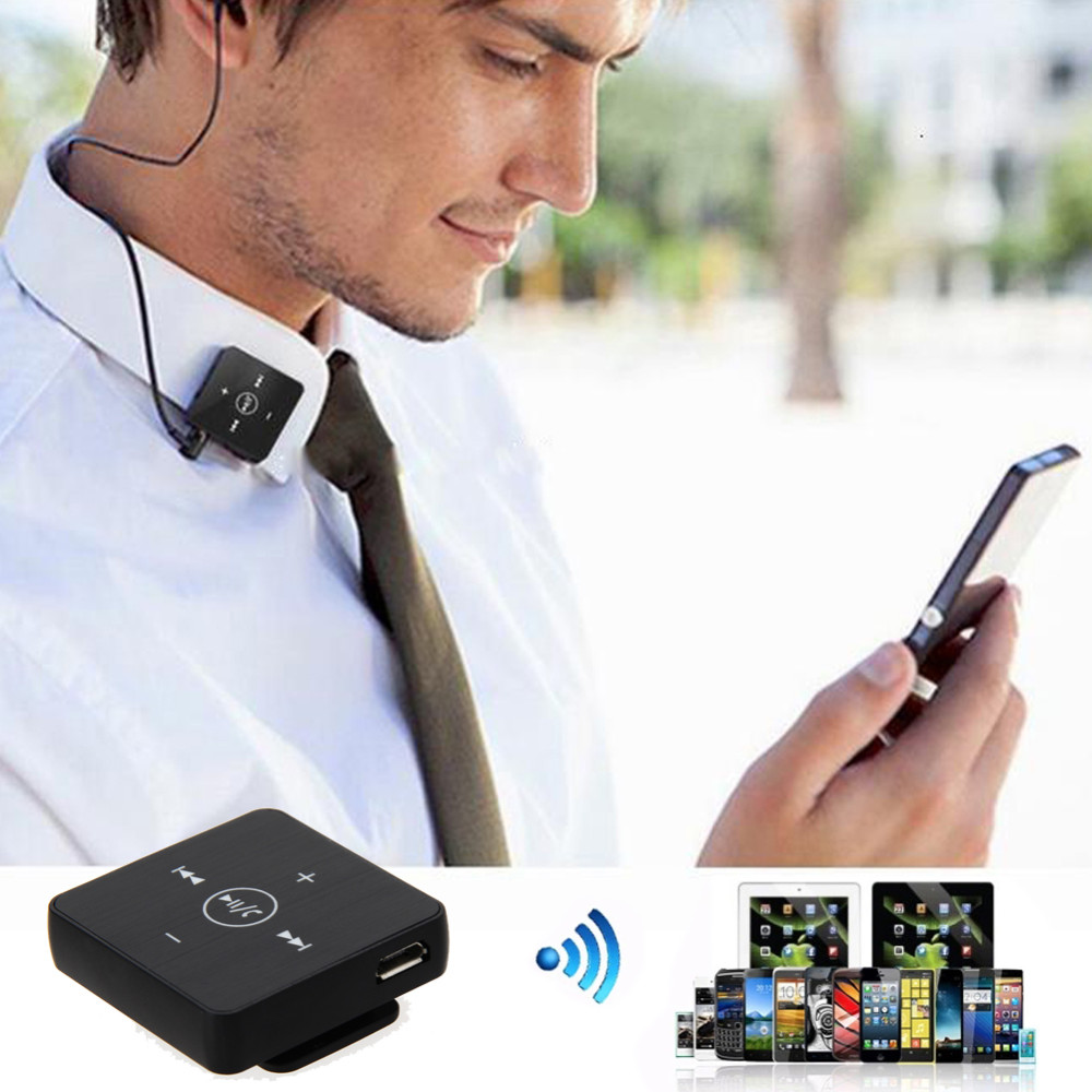 New EB-601 Lavalier MINI Clip Wireless Bluetooth Headset Headphone Earphone Clamp Collar with Microphone Handfree Function