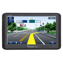 918 5-inch Resistive Screen Windows CE 6.0 4GB Car GPS Navigation with Multimedia player /FM /TF Slot (Black & Red)