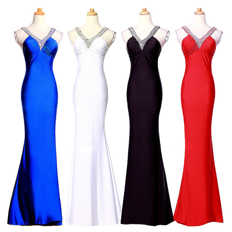 Dresses For Fall Wedding Guest Over 50 Wedding V collar backless