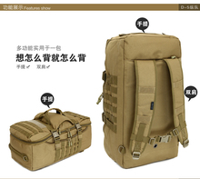 Outdoor tactical army backpack multifunctional Military camouflage waterproof Luggage Hiking hunting camping bags