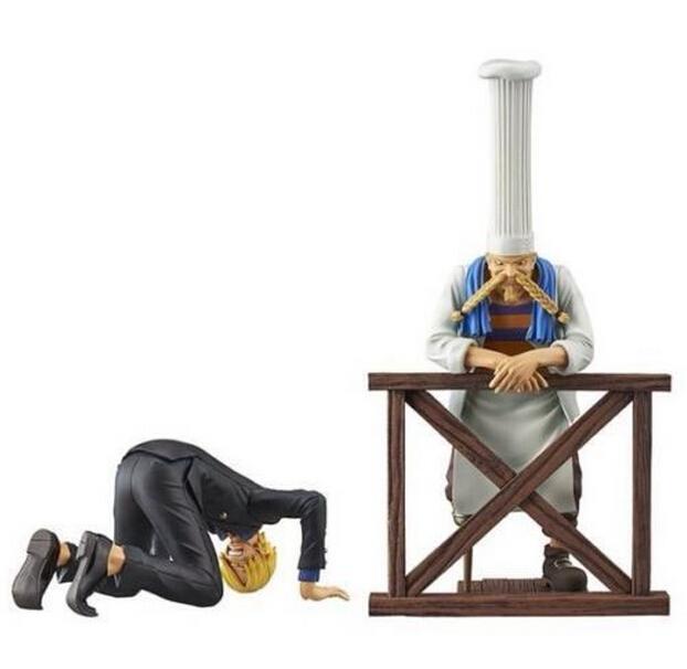 Banpresto Figure ONE PIECE DRAMATIC SHOWCASE 6th Season Vol.1 Sanji &amp; Zeff Set One Piece SANJI  ZEFF Model Toy Figuras One-Piece<br><br>Aliexpress