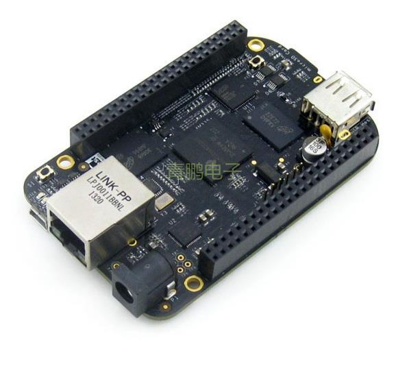BeagleBone Black 1GHz ARM Cortex-A8 512MB DDR3 4GB 8bit eMMC BB Black AM3358 Development Board Kit Rev.C from Embest Element14(China (Mainland))