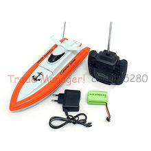 Free shipping RC Boat Children rechargeable high-speed boats Navigation model children's toys 800(China (Mainland))