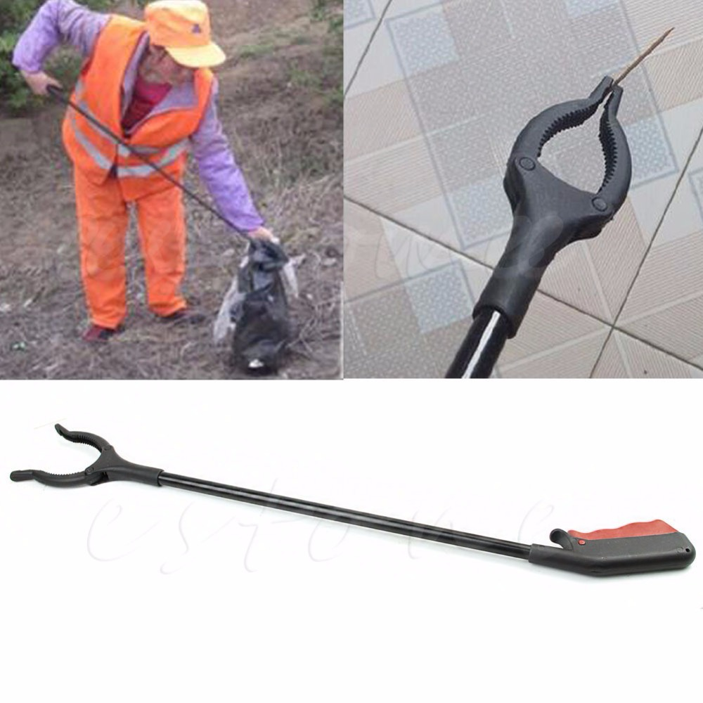 1 PC Trash Mobility Pick Up Grabber Long Reach Helping Hand Arm Extension Tools Free shipping(China (Mainland))