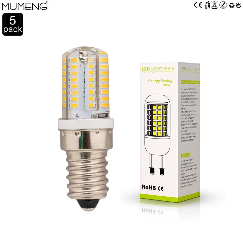 5 pack 3W 64pcs SMD3014 light bulb ,AC220V LED bulb,warm white light lamp,E14 screw socket light bulb(China (Mainland))