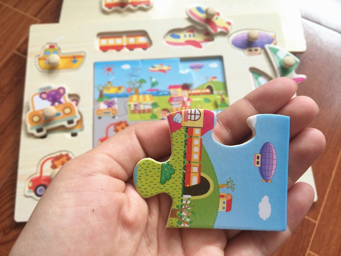Baby toys montessori 2 in 1 puzzlehand grab board set educational baby toys montessori 2 in 1 puzzlehand grab board set educational wooden toy cartoon vehicle marine animal puzzle child gift us248 fandeluxe Choice Image