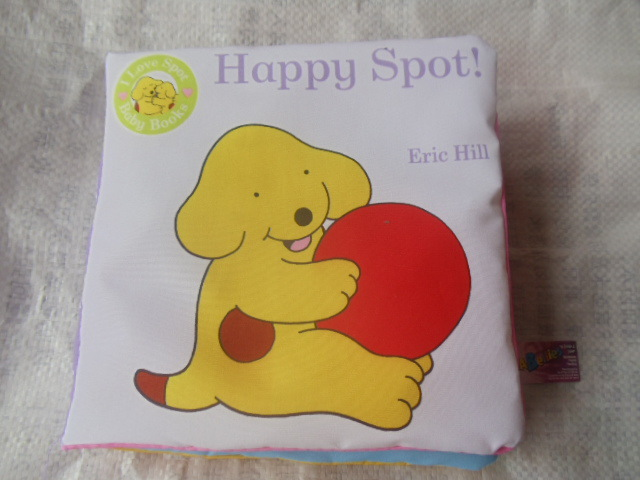 "Baby ring paper safety mirror cloth book "" Happy Spot"" baby educational toys book-w226 - Online Store 527385 store"