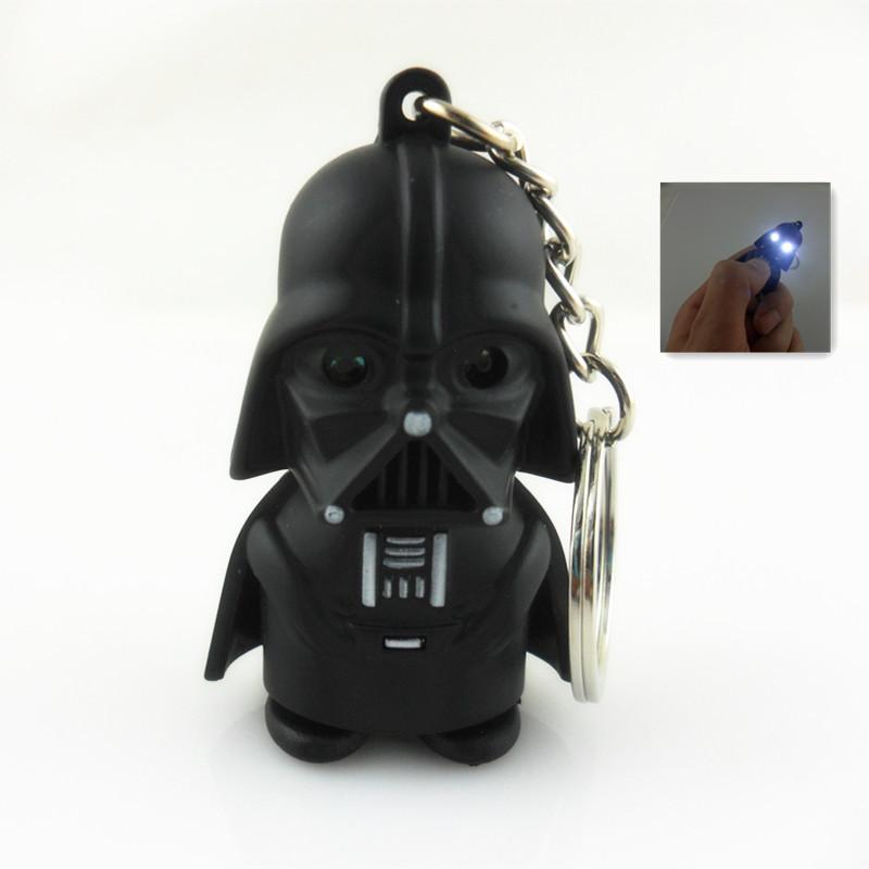 Star Wars Key Holder Light Sound Keychain Storm Trooper  llaveros Key chain Darth Vader  Yoda  Anakin Skywalker Action Figure<br><br>Aliexpress