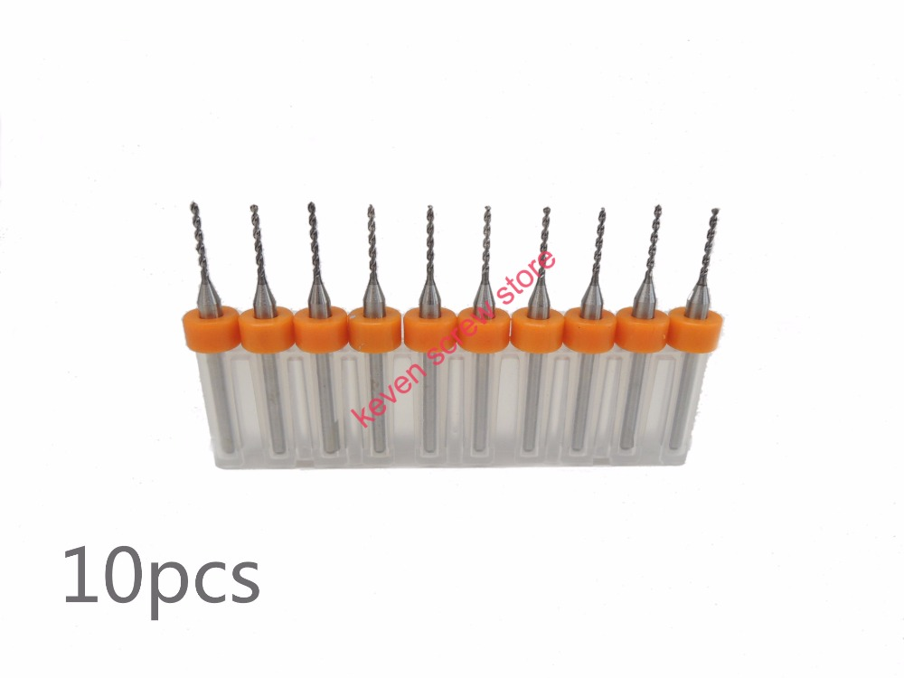Freeshipping 10pcs Set 1 05mm High Quality Hard Alloy PCB Print Circuit Board Carbide Micro Drill