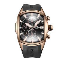 Récif tigre/RT Top marque montre de Sport de luxe pour hommes Rose or bleu cadran professionnel chronomètre étanche RGA3069-T(China)