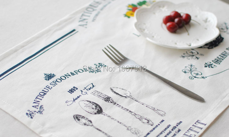 Linen Placemat rustic dining table mat disc pads bowl pad coasters wedding table cloth pad slip-resistant pad (9)