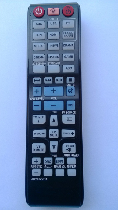remote control AH59-02583A USE FOR SAMSUNG TV(China (Mainland))