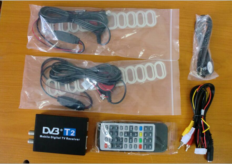 Digital TV Receiver car TV Tuner DVB-T2 for Russian federation Thailand,Viet Nam,Southeast Asia free shipping