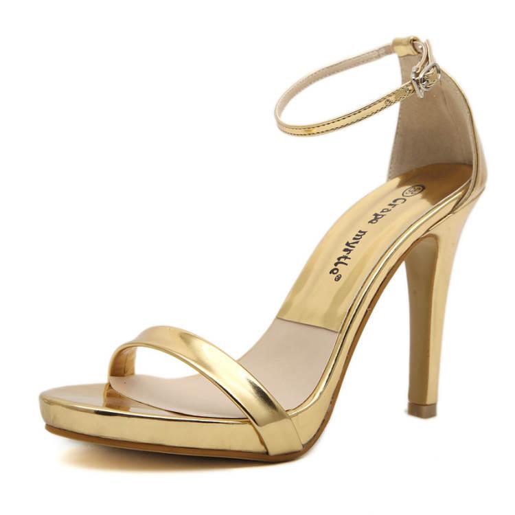 Gold Womens Heels