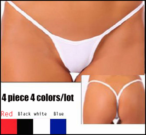 Cotton string bikini panty