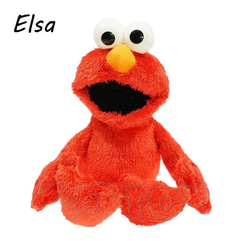 30CM Cartoon Sesame Street Elmo Plush Toys Soft Stuffed Dolls Children Gifts WJ256(China (Mainland))