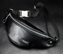 Талия пакеты  от Huaboer Bag Co.,Ltd. для Мужская, материал Настоящая кожа артикул 32374920333