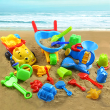 Child Large Hourglass Shovel Bucket Ssand Tools Baby Set Large Beach Toy(China (Mainland))