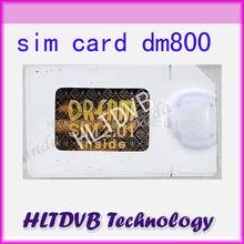 DM800 Sim card 2.01 for DM800hd SIMcard 2.01, DM800s sim2.01 Digital Satellite Receiver Free Shipping Post(China (Mainland))