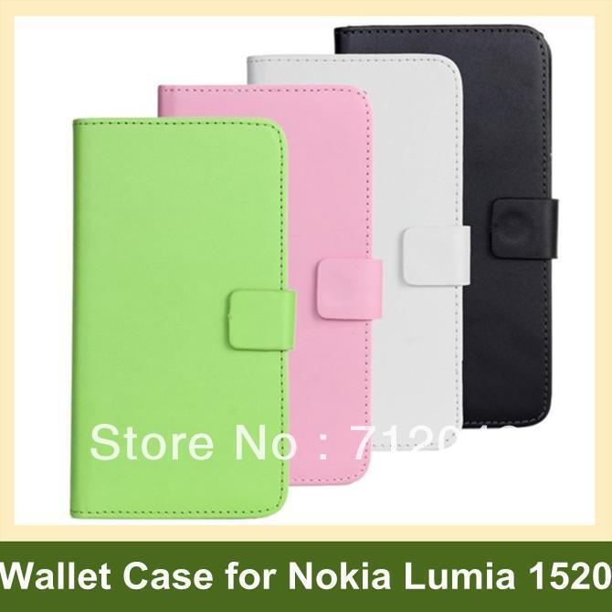 Здесь можно купить  100pcs X PU Leather Flip Cover Case for Nokia Lumia 1520 Wallet Case for Nokia Lumia 1520 DHL/EMS Free Shipping 100pcs X PU Leather Flip Cover Case for Nokia Lumia 1520 Wallet Case for Nokia Lumia 1520 DHL/EMS Free Shipping Телефоны и Телекоммуникации