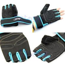 Weight Lifting Gym Gloves Training Fitness Workout Wrist Wrap Exercise Glove New free shipping