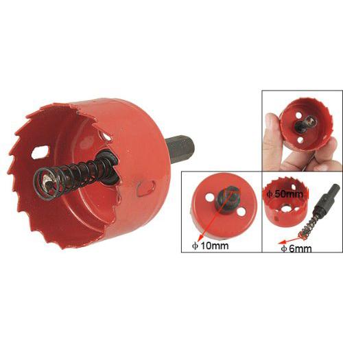 FJS Wholesale Twist Drill Bit 50mm Diameter Cutter BiMetal Hole Saw