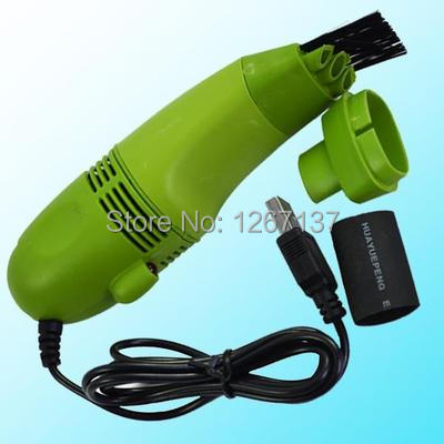 Free Shipping Hot Mini USB Vacuum Keyboard Dust Collector For LAPTOP Notebook PC Cleaner 7195 UFR0(China (Mainland))