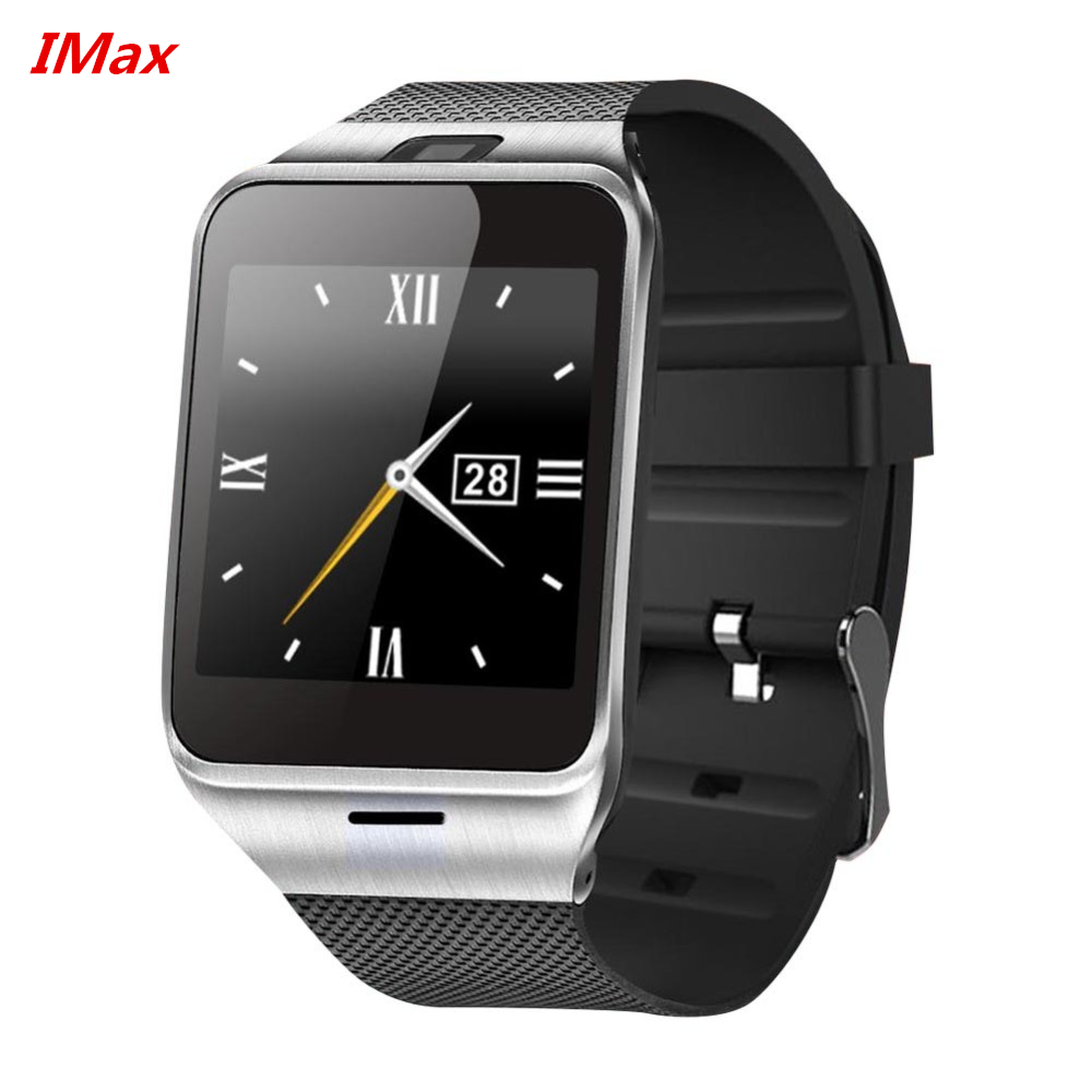 """New 2016 GV18 Smart Watch Phone 1.55"""" Bluetooth SmartWatch Phone support NFC 1.3MP Cam Sync Call SMS for Samsung Android PK DZ09(China (Mainland))"""
