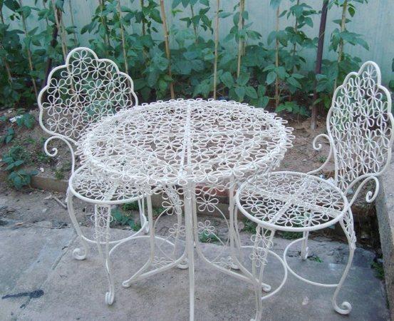 Купить дешёвые железный садовый стул и схожие товары на alie.