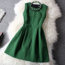 Buy 2016 NEW High Europe Spring dress Clothes plus size fashion Women's Clothing casual winter Dress gorgeous party dresses for $37.44 in AliExpress store