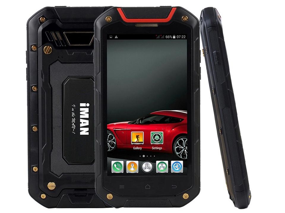 Original iMAN i5800 i5800C IP67 Waterproof Dustproof Shockproof MTK6582 Quad Core 1.3GHz 8GB 1GB Mobile phone(China (Mainland))
