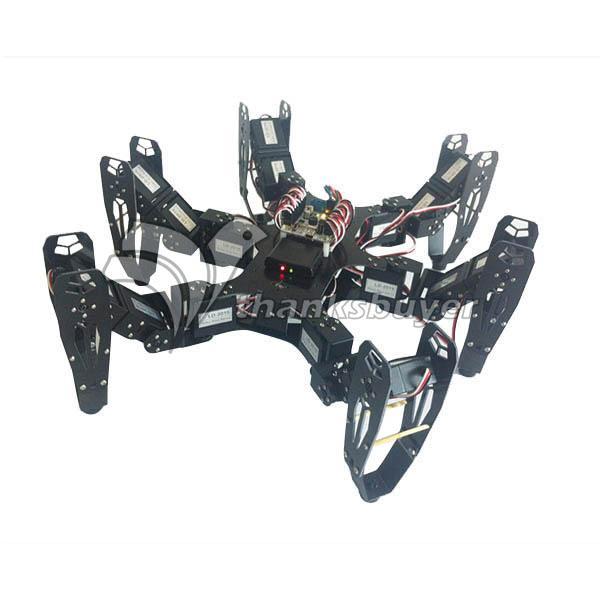 Robo-Soul CR-6 Hexapod Robtics Six-legged 18DOF Spider Robot Kit w/ 32CH Controller Digital Servo(China (Mainland))